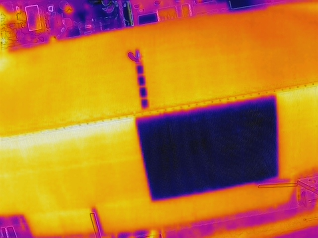How the Insurance Sector is using Drones to its Advantage - thermal image