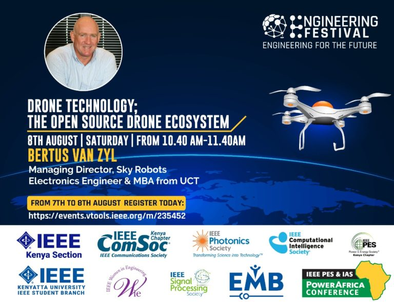 Bertus van Zyl Speaker at Engineering Festival 2020