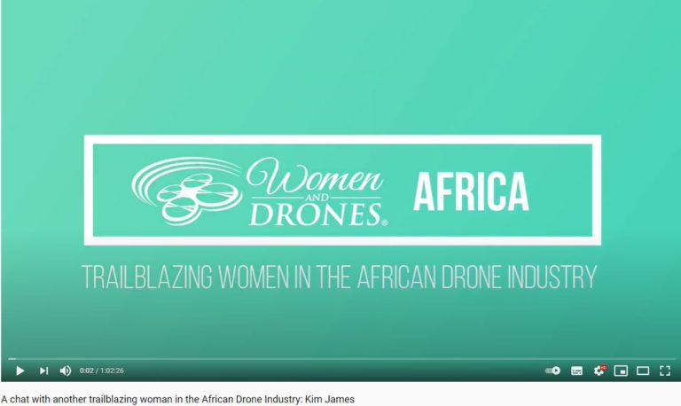 Kim James Interview with Louise Jupp on Women and Drones